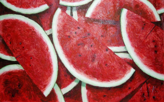 Still Life (Watermelon)