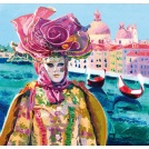 Two Gondole and the Venice Carnival