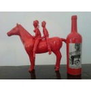 Two People on the Horse & Wine