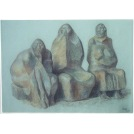 Tres Mujeres Sentadas (Three Seated Women)