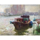 Boats in Tan Jiang River
