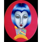 China Girl with Blue Bob