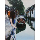 Girl in Zhouzhuang