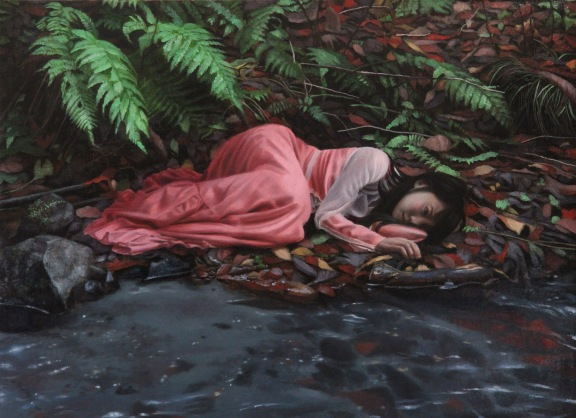 The Maiden Sleeping on the Shore of the River