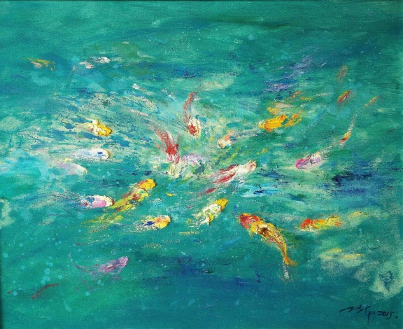ASIA CONTEMPORARY ART | Fish Meaning Series No 60
