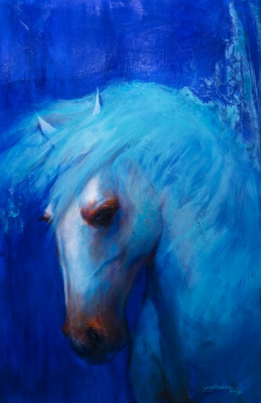 A White Horse from A New Life 1